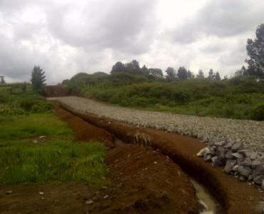 Runda Mhasibu road works ahead
