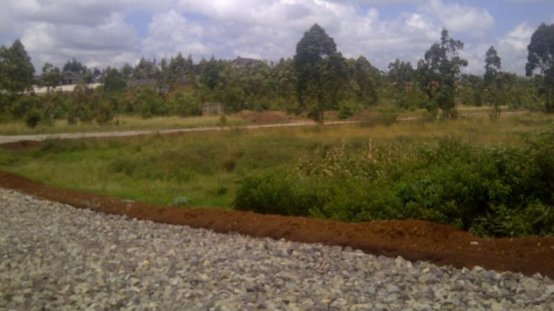 Runda Mhasibu rtoad works on going (1)