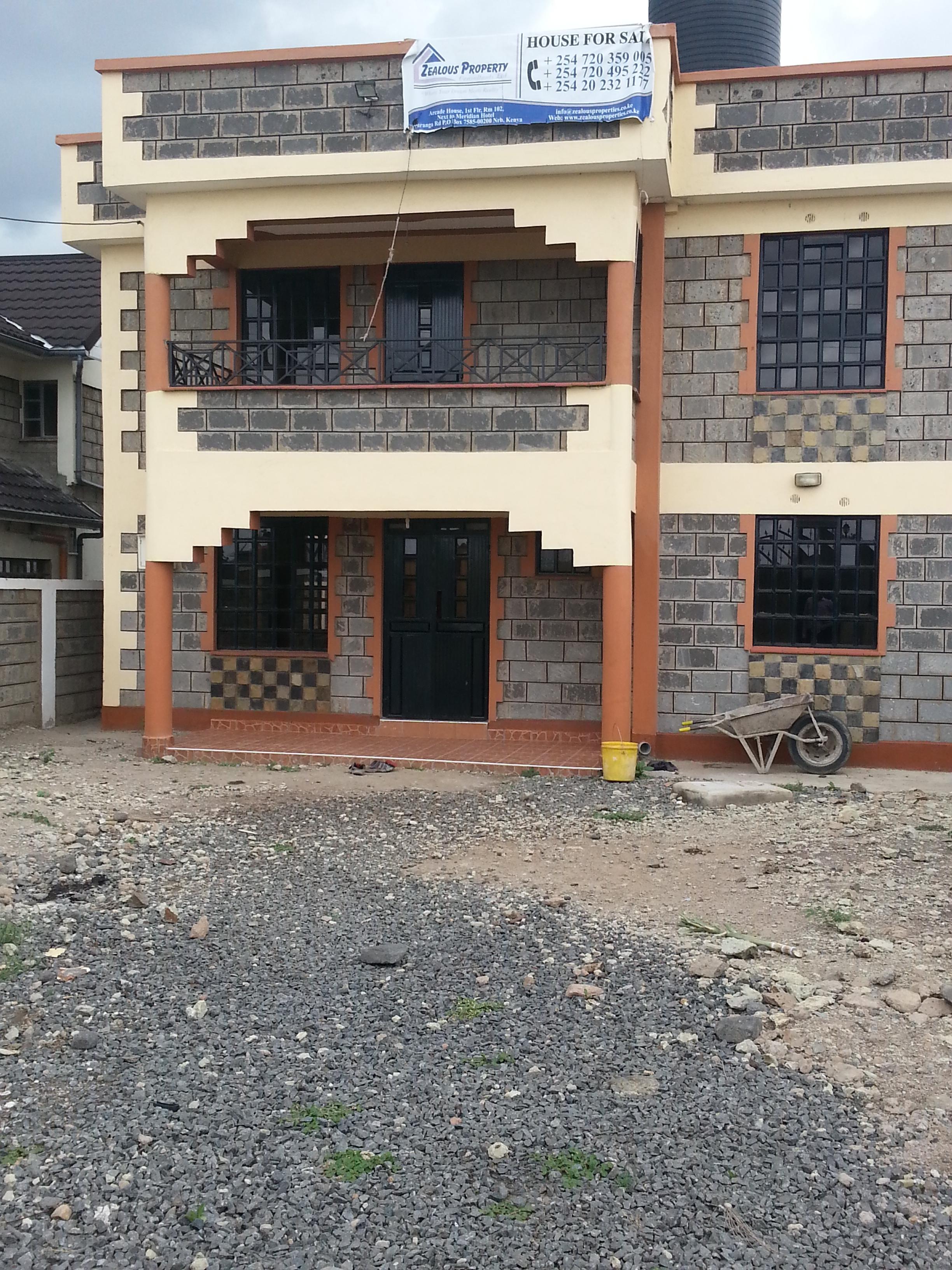 4 Bedroom Maisonette Kitengela Point Properties Ltd