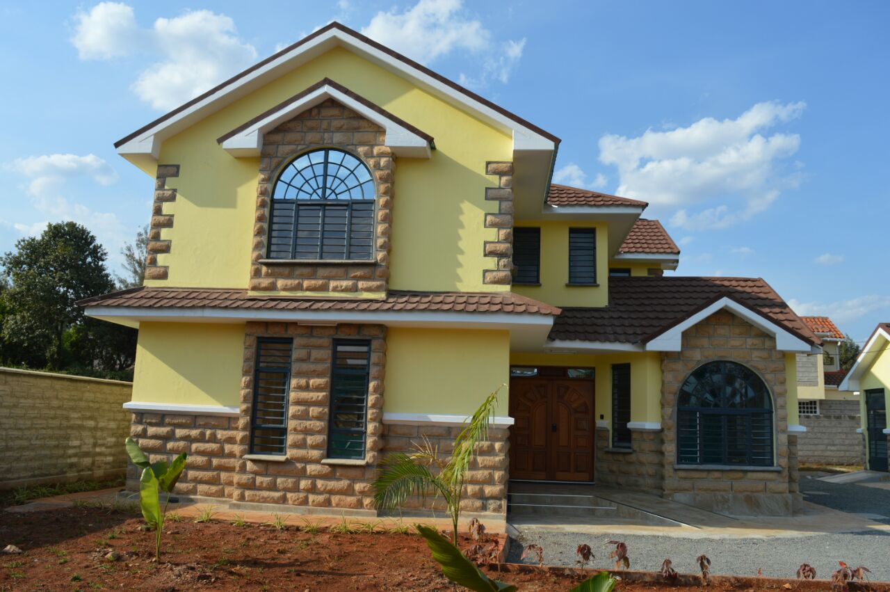 Massionates houses in kenya for Modern estate home plans
